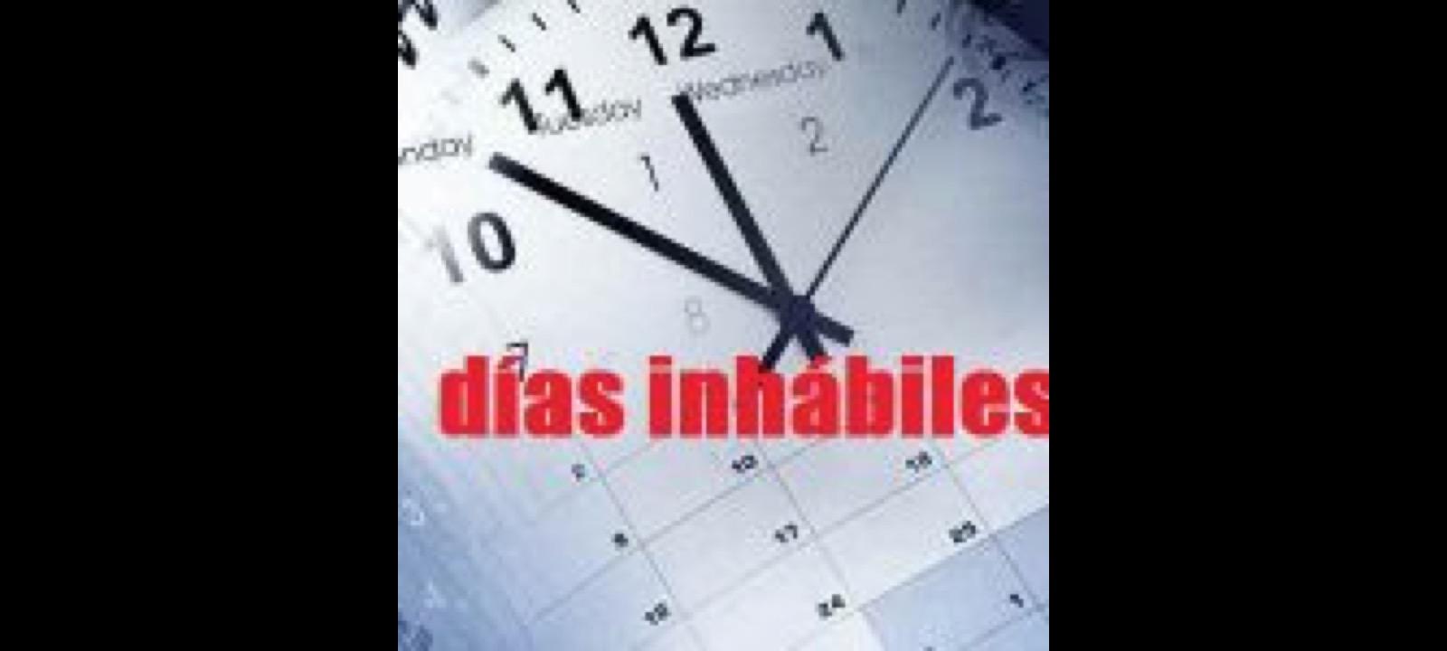 Calendario días inhábiles a efectos del cómputo de plazos administrativos en 2020 en Castilla- La Mancha