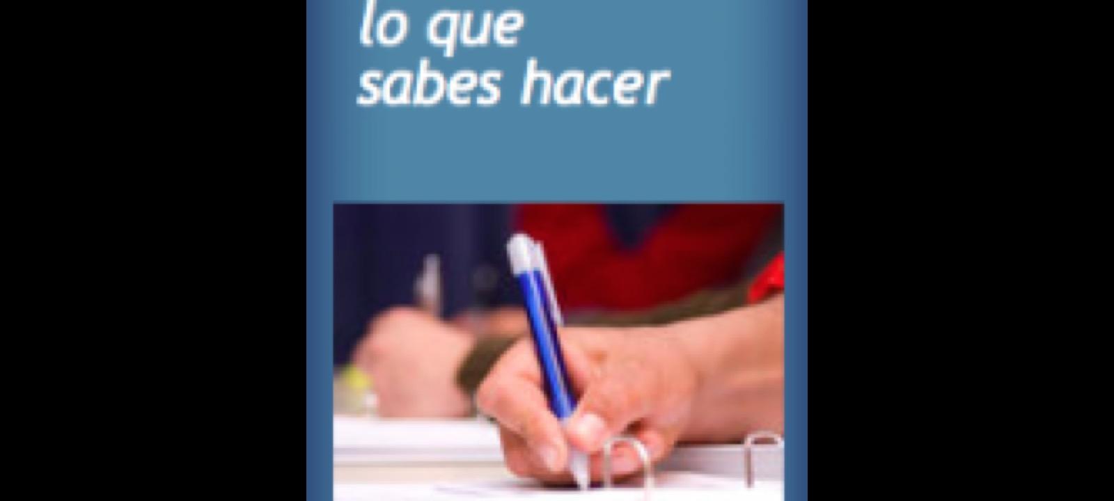 Abierto procedimiento de evaluación y acreditación de competencias profesionales adquiridas a través de experiencia laboral o de vías no formales de formación.