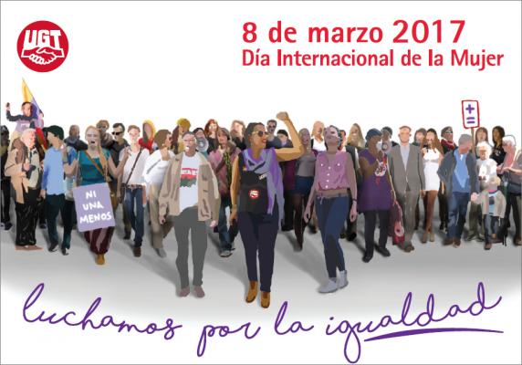 8 de marzo d a internacional de la mujer luchamos por la Comisiones obreras ensenanza toledo