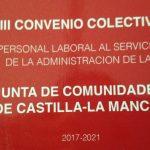 Publicado acuerdo de modificación del VIII Convenio Colectivo para el Personal Laboral de la Administración de la JCCM