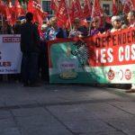 Casi un millar de personas piden en la región la derogación de la reforma del Sistema Público de Pensiones impuesta por el PP en 2013