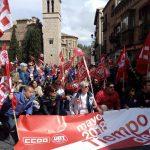 Miles de personas en Castilla- la Mancha salen a la calle para reclamar sus derechos y conmemorar el 1º de mayo