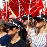 8000 policías piden en Madrid la aplicación efectiva de la jubilación anticipada