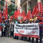 Los empleados de correos de la provincia de Ciudad Real se suman a la huelga para exigir soluciones