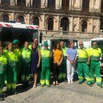 Toledo recibe la Escoba de Platino, galardón que premia a las cuidades más limpias de España