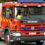 Los rotativos azules para los vehículos de bomberos ya son realidad