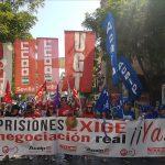 UGT prisiones califica de exitosa la manifestación de los trabajadores penitenciarios en Sevilla para reivindicar más derechos y una justa subida retributiva