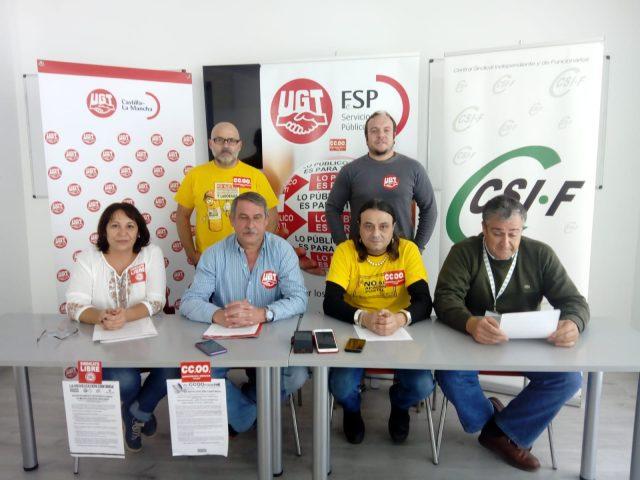 Ante la situación de Correos, CCOO, UGT, CSIF y Sindicato Libre convocarán a los 60 mil trabajadores/as de Correos a concentraciones en las capitales de Comunidades Autónomas. El 8 de noviembre lo harán en Toledo.