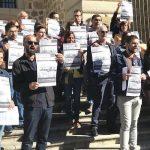Las cinco bibliotecas públicas de la Junta en la región están en huelga indefinida e iniciarán medidas más contundentes tras la reunión sin acuerdos del miércoles