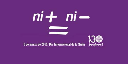 8 de marzo de 2019. Día Internacional de la Mujer