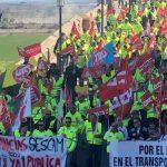 Trescientos trabajadores de las ambulancias de CLM se manifiestan en Toledo ante el bloqueo del convenio