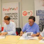 FeSP-UGT y Ecoembes renuevan su compromiso con el reciclaje en los centros de trabajo