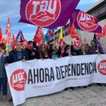 Las trabajadoras de Dependencia salen a la calle por un convenio digno