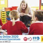 Cursos de formación específicos para personal docente (primer semestre)
