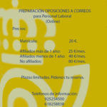 Nueva edición. Preparación Oposiciones Personal Laboral Correos (On Line)