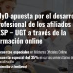 Ofertas de formación online para afiliados/as: Escuela de negocios y dirección