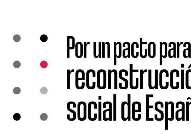 Por un pacto para la reconstrucción social de España. #VamosASalir