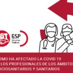 Plantillas agotadas y precarizadas: informe del personal sanitario y sociosanitario durante la pandemia