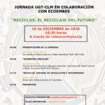JORNADA EN COLABORACIÓN CON ECOEMBES: RECICLOS, EL RECICLAJE DEL FUTURO