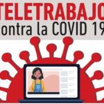 Contra la COVID19, #TeletrabajoYa