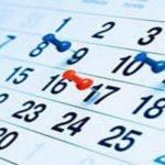 Fecha límite para el disfrute de vacaciones y moscosos 2020