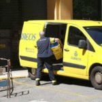 cartero furgoneta
