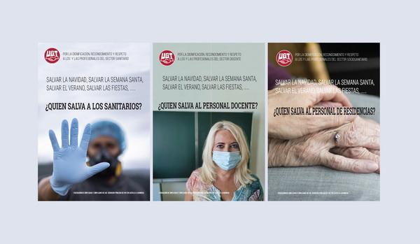 UGT CLM inicia una campaña por el reconocimiento y respeto a los profesionales de los servicios públicos
