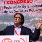 Julio Lacuerda, reelegido secretario general de UGT Servicios Públicos