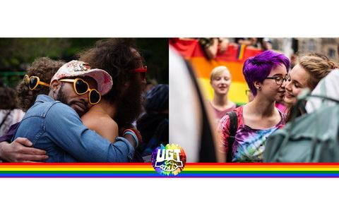 """#17M Día Internacional contra la Homofobia, la Transfobia y la Bifobia – """"Una mirada transformadora. El sindicalismo del siglo XXI y las personas LGTBI"""""""