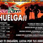 UGT GEACAM – Concentraciones, movilizaciones y huelga